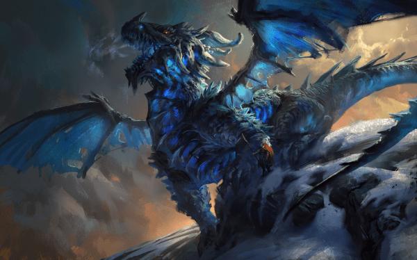 Epic Ice Dragon