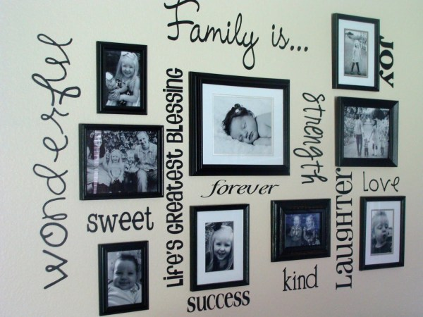 Family Frame Wall Ideas