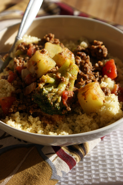 couscous & beef
