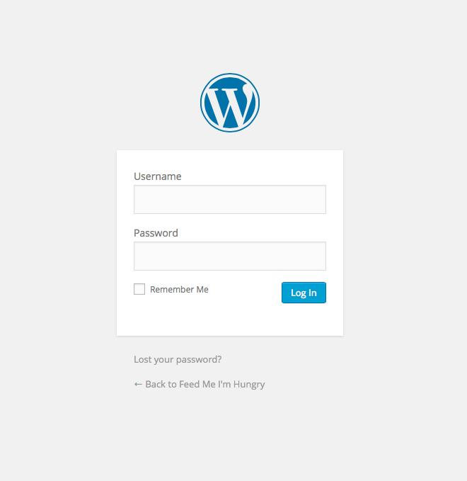 wordpressLogInGraphic