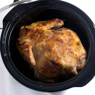 Crockpot Roasted Chickenand Potatoes