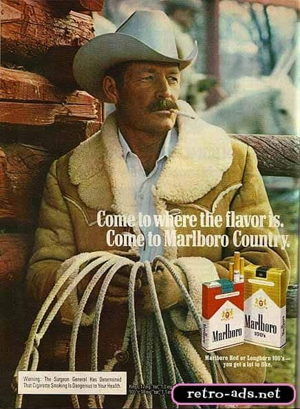 marlboro lifestyle positioning