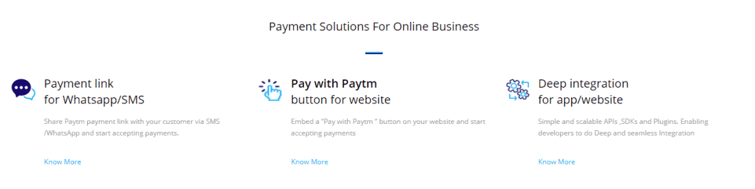 paytm payment solutions