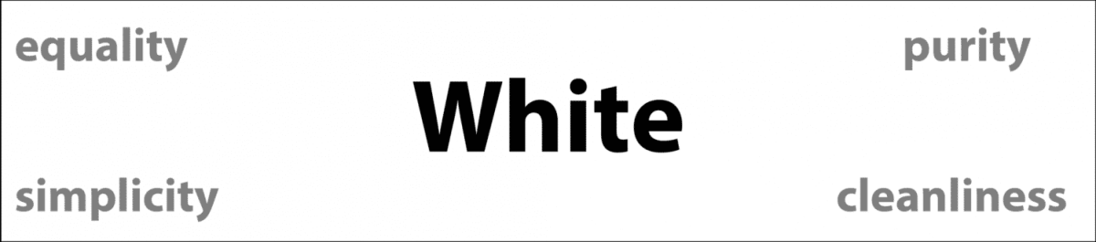 Psychology of Color White