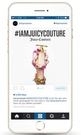 Facebook business model instagram-ad