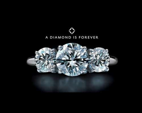 a diamond is forever