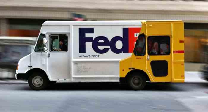 fedex vs dhl brand war