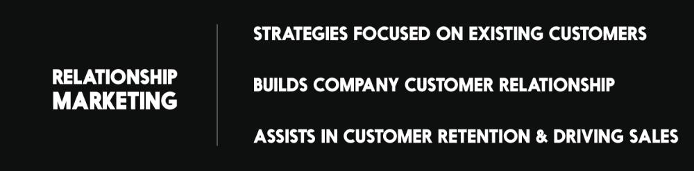 relationship marketing holistic marketing