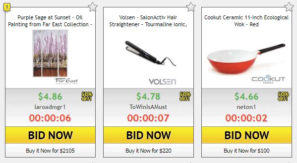 dealdash auctions