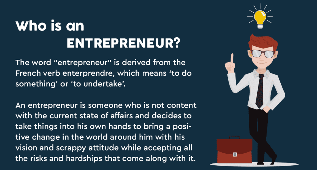who is an entrepreneur
