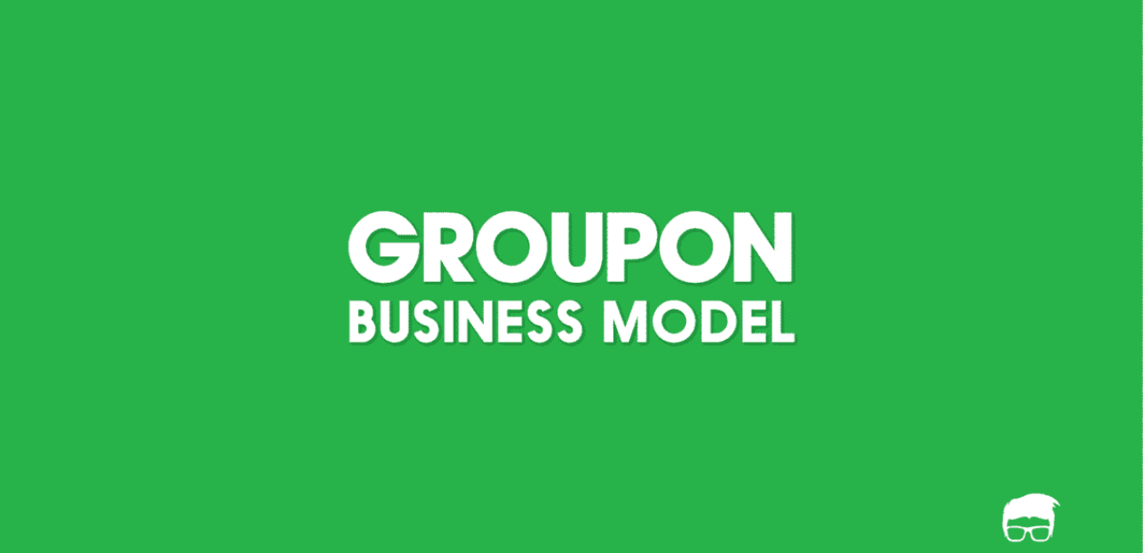 groupon business model
