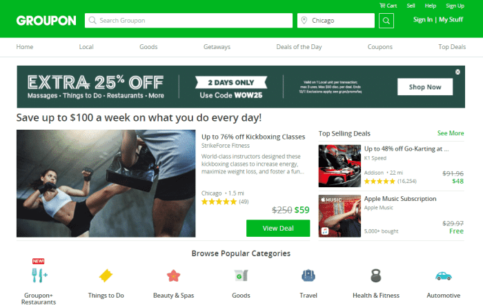 how does groupon work