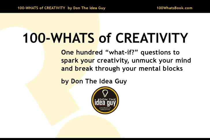 100 whats of creativity