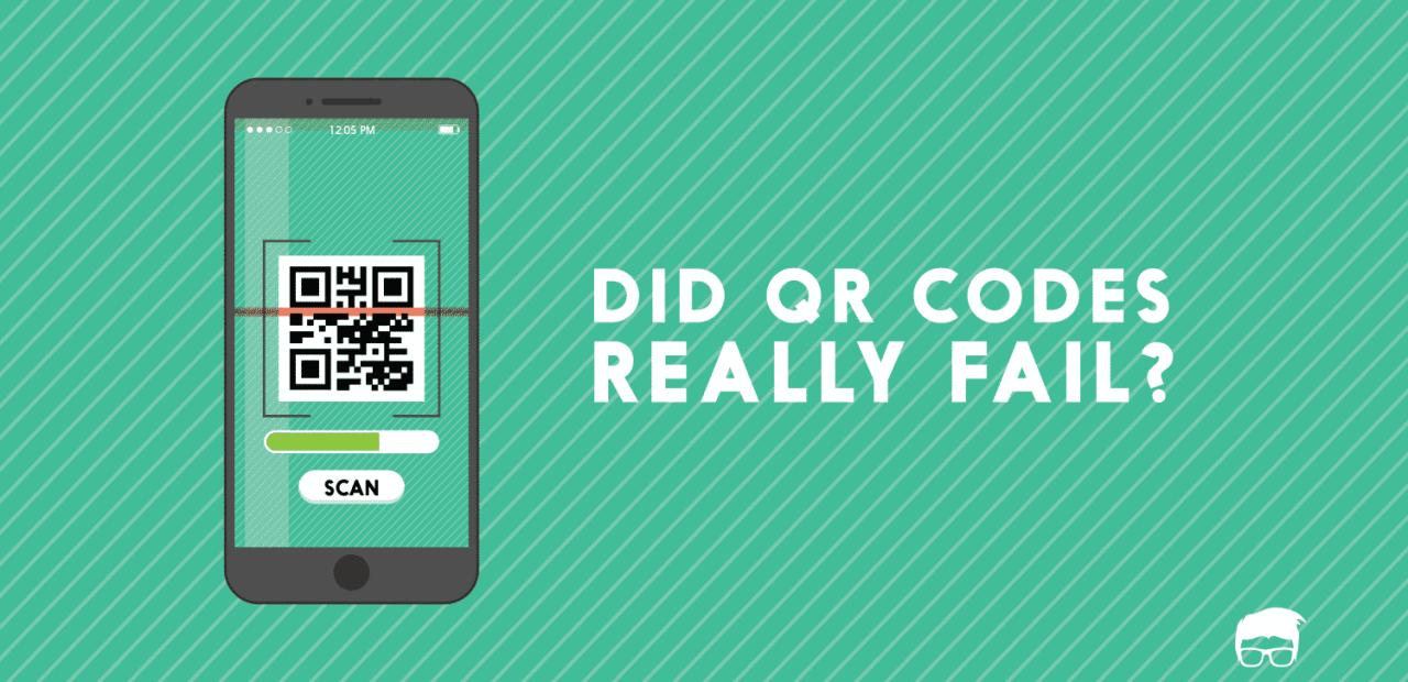 Did QR Codes really fail