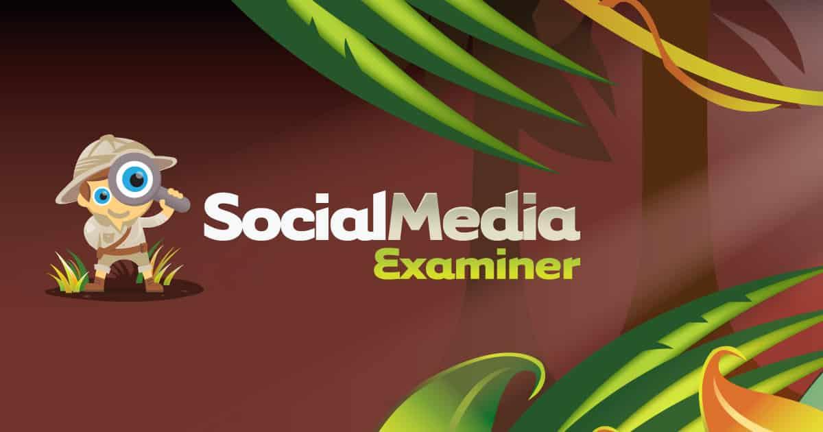 social media examiner marketing resource