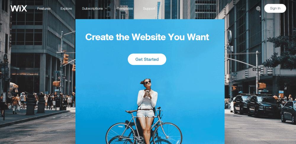 wix website development hosting