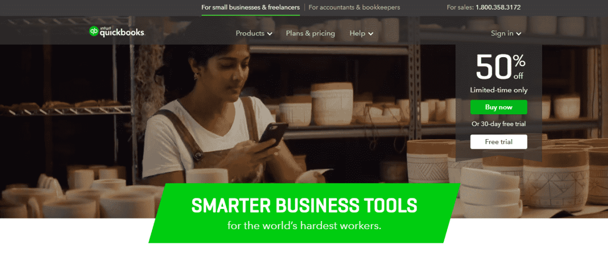 quickbooks financial tools