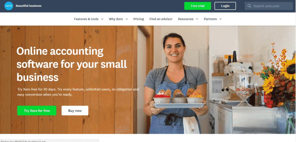 xero financial tool