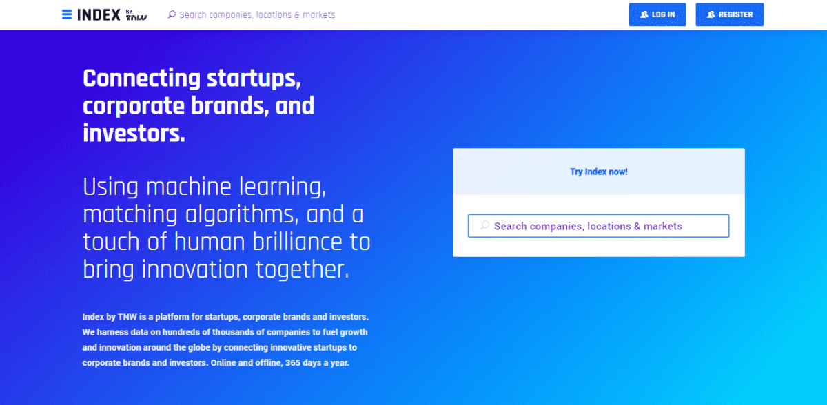 index.co startup listing