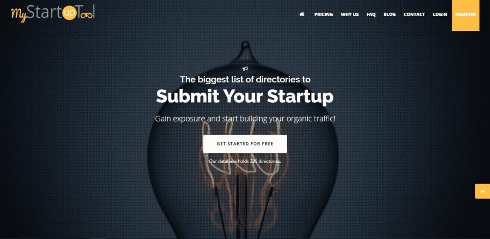 my startup tool