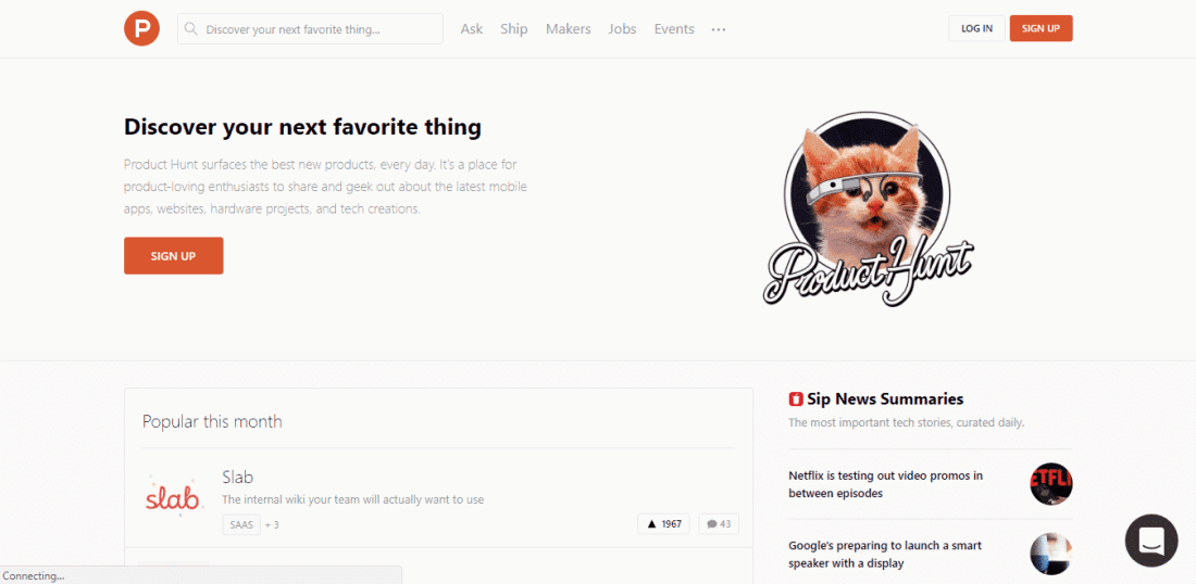 product hunt submit your startup