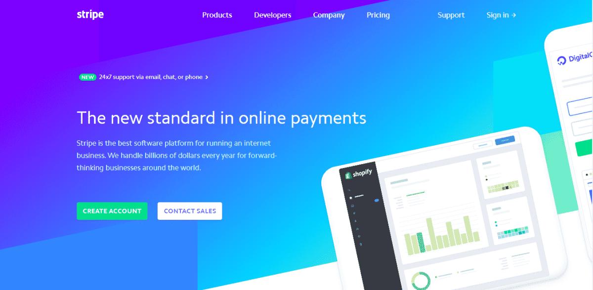 Stripe best payments gateway