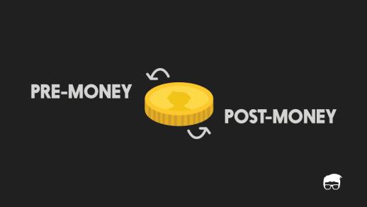 pre-money post-money