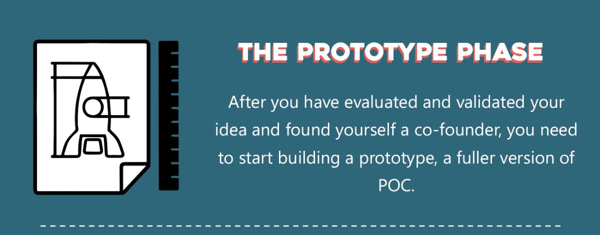 prototype phase - startup process