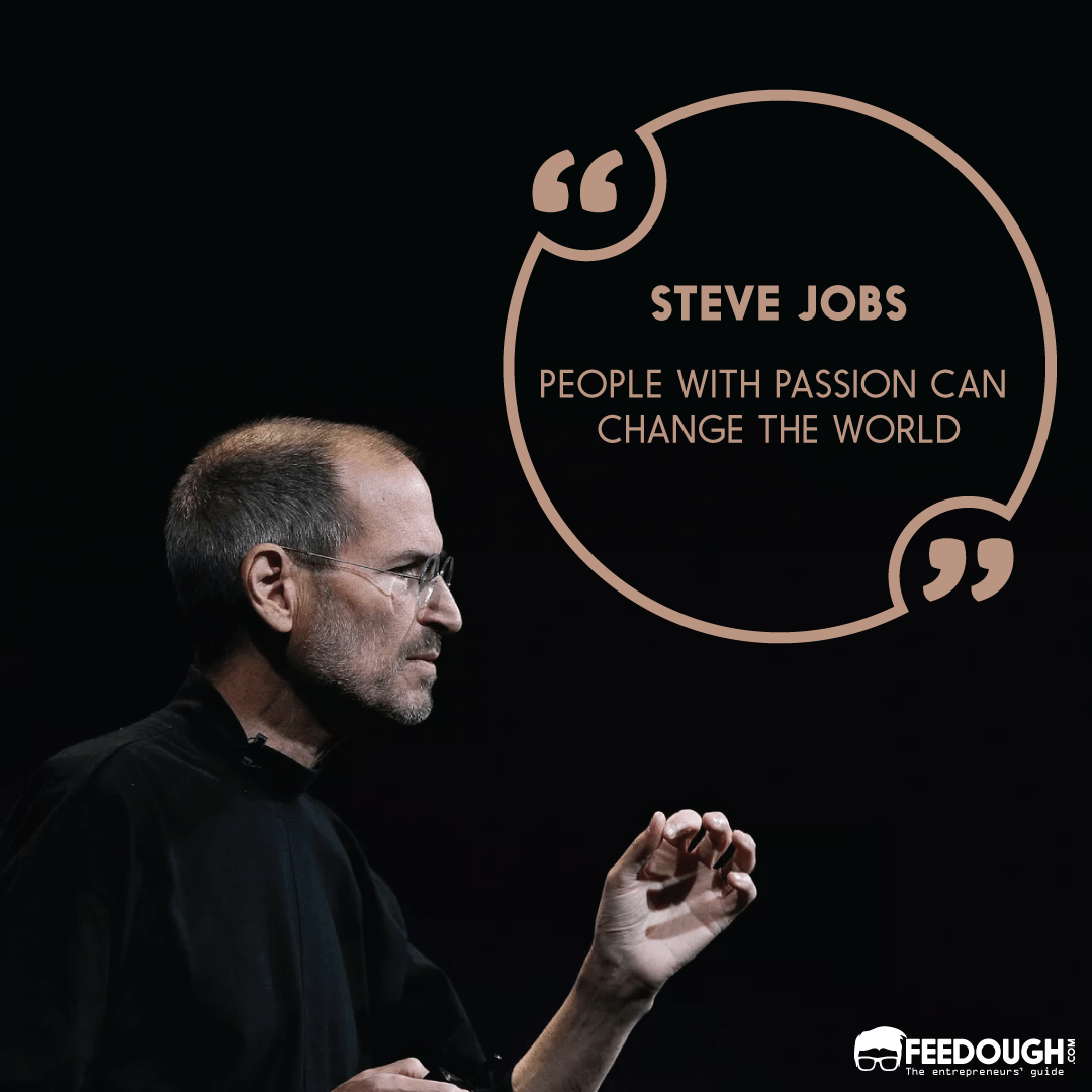 steve jobs startup quote
