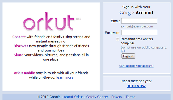 what is orkut