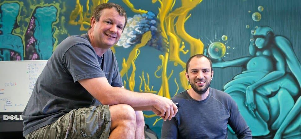 Brian Acton and Jan Koum