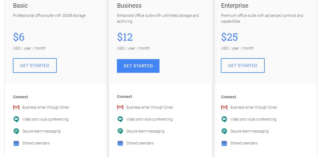 google hangouts pricing