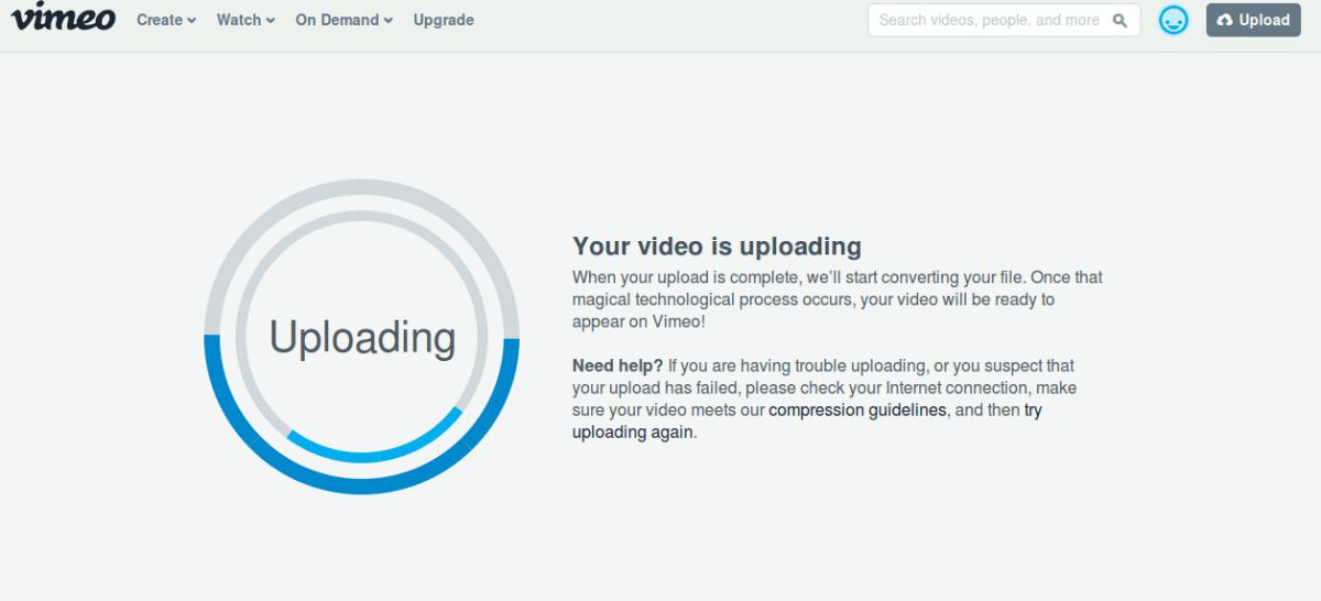 how vimeo works