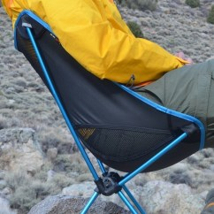 Big Agnes Helinox Chair Foot Massage Sofa One Review Feedthehabit Com