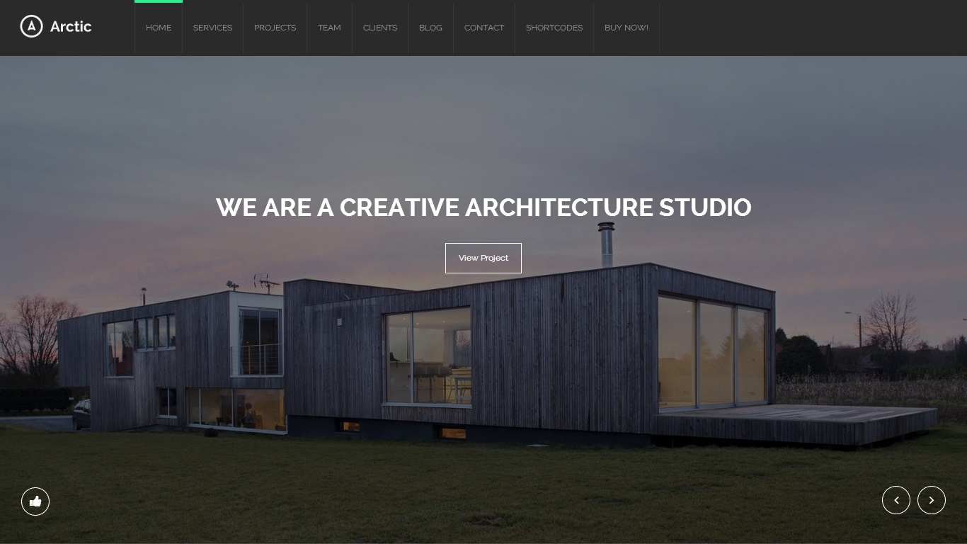 Arctic WordPress Theme