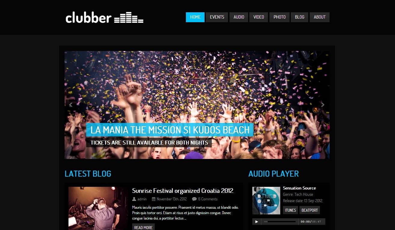 43 Best Responsive WordPress Music Themes