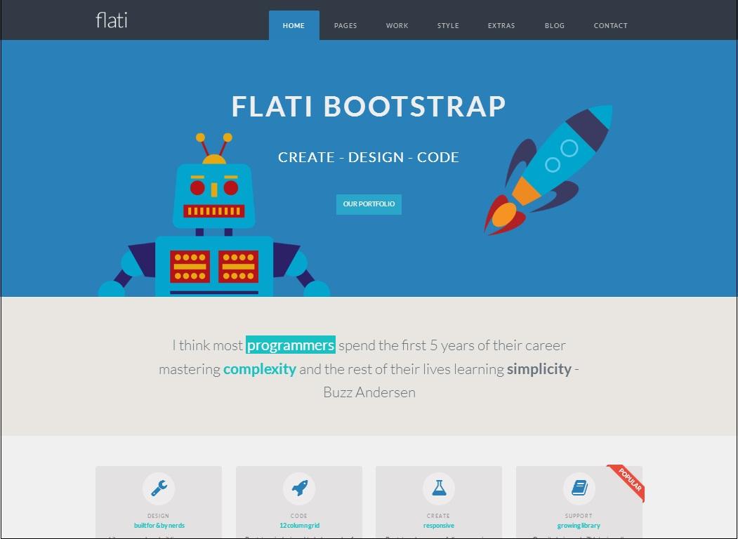 Flati WordPress Theme