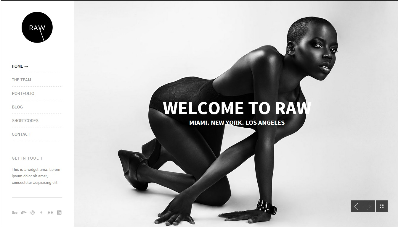 Raw WordPress Theme