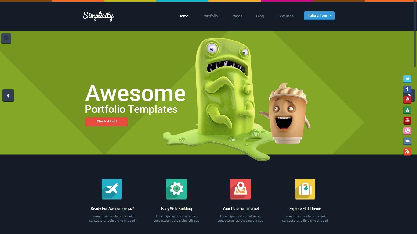 Simplicity WordPress Theme