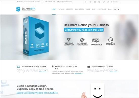 Smartbox WordPress theme