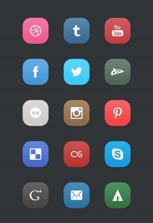 Zosial Icons