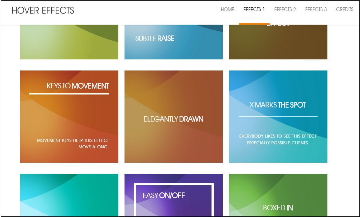 36 Best Free and Premium CSS3 jQuery Image Hover Plugins & Effects
