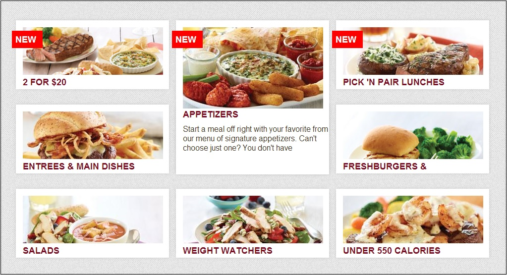 CSS3 HOVER EFFECTS restaurant menu