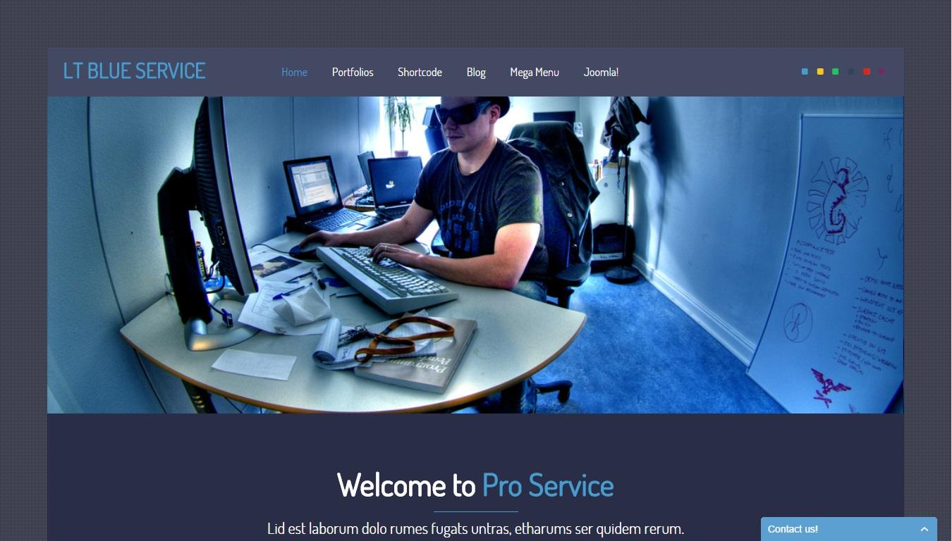 Lt Blue Service