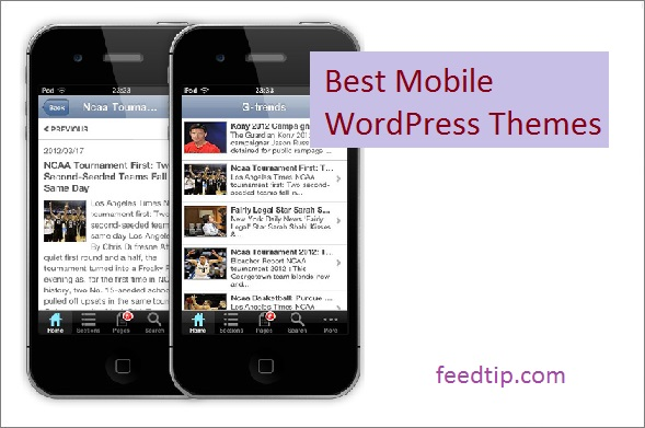 Best Mobile WordPress Themes