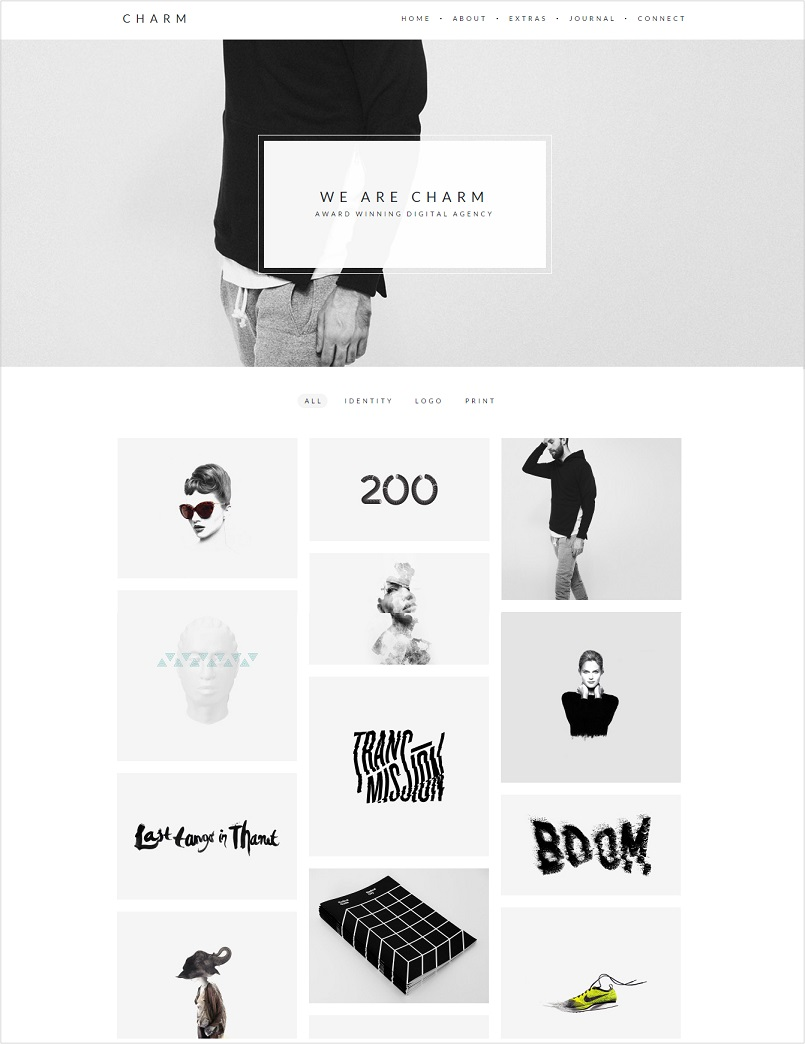 charm wordpress theme