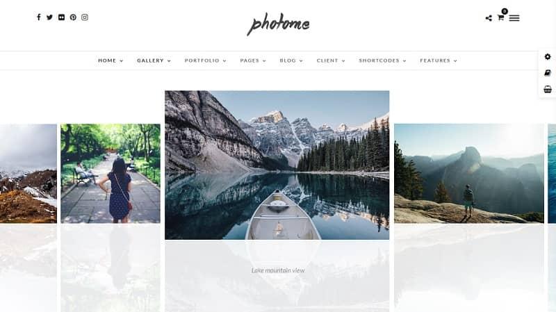 Photo Me - WordPress Photography theme