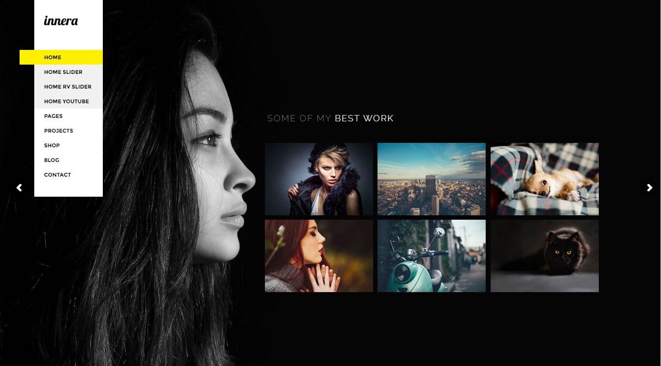 innera photography wordpress theme