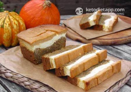 Pumpkin and Orange cheese Bread