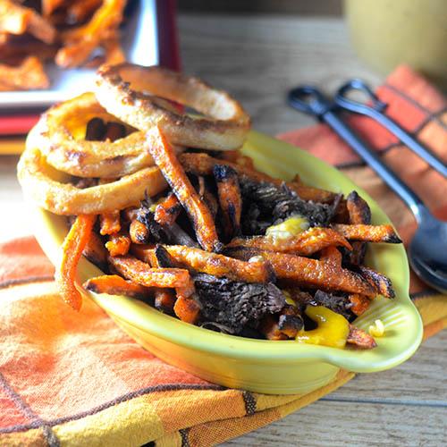 Sweet Potato Poutine - Feed Your Soul Too